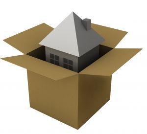 Haus in der Box